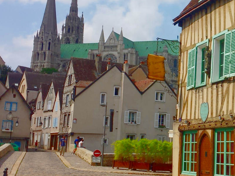 Chartres + Bike Tour